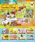Re-ment Miniature Peanuts Snoopy Garden Party Set