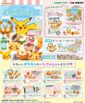 Re-Ment Miniature Pokemon Pikachu Bakery in the blue sky set